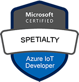 Microsoft Certified: Azure IoT Developer Specialty