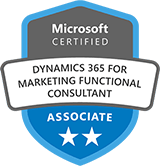 Microsoft Certified: Dynamics 365 Marketing Functional Consultant Associate