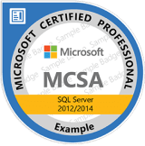 Microsoft SQL Certification