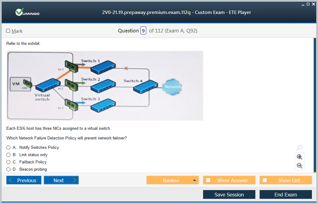 2V0-21.19 Exam Screenshot #1