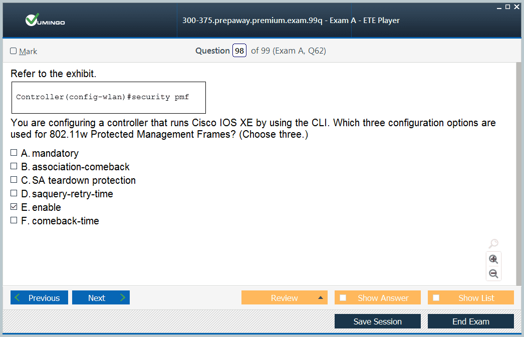 100% Free Cisco CCNP Wireless Exam Questions & CCNP Wireless