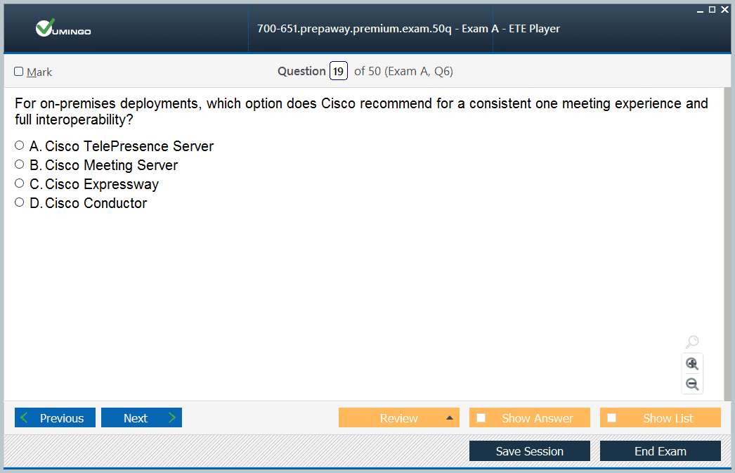 700-651 Exam Screenshot #3