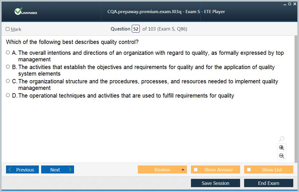 Cqa Test