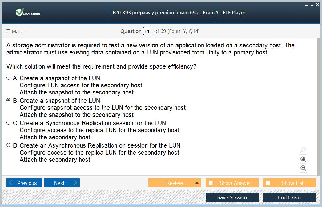 EMC E20-393 Exam Dumps, E20-393 Practice Test Questions - PrepAway