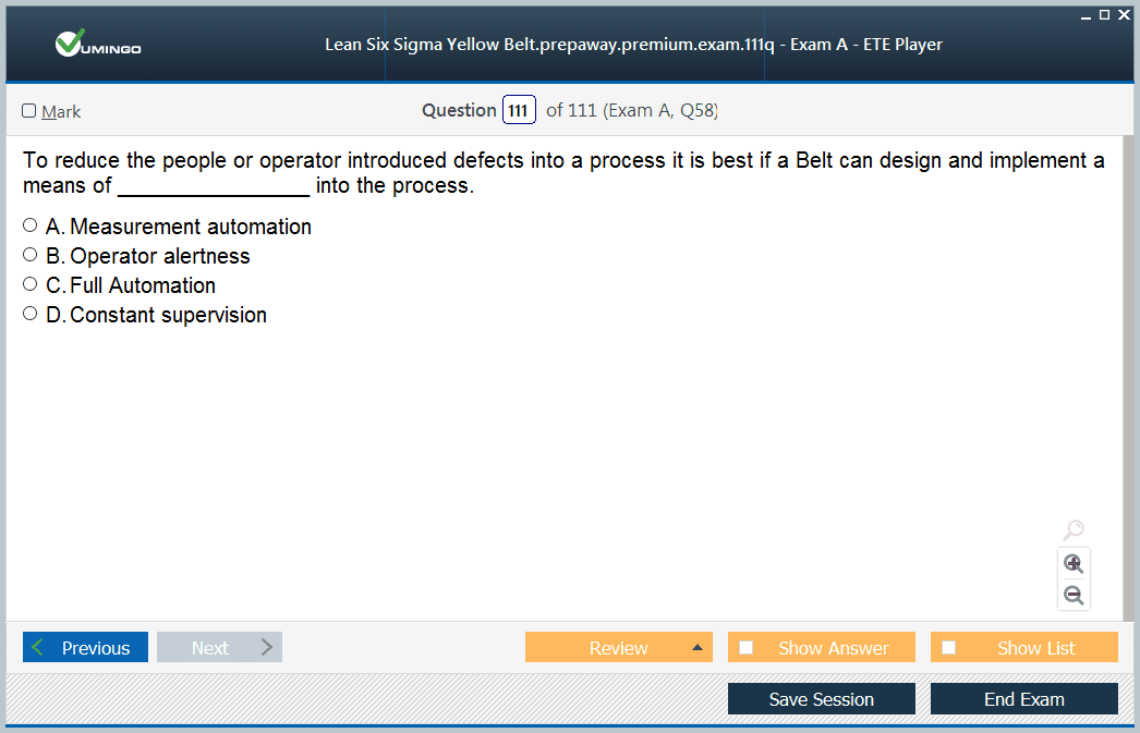 Exam Screenshot #4