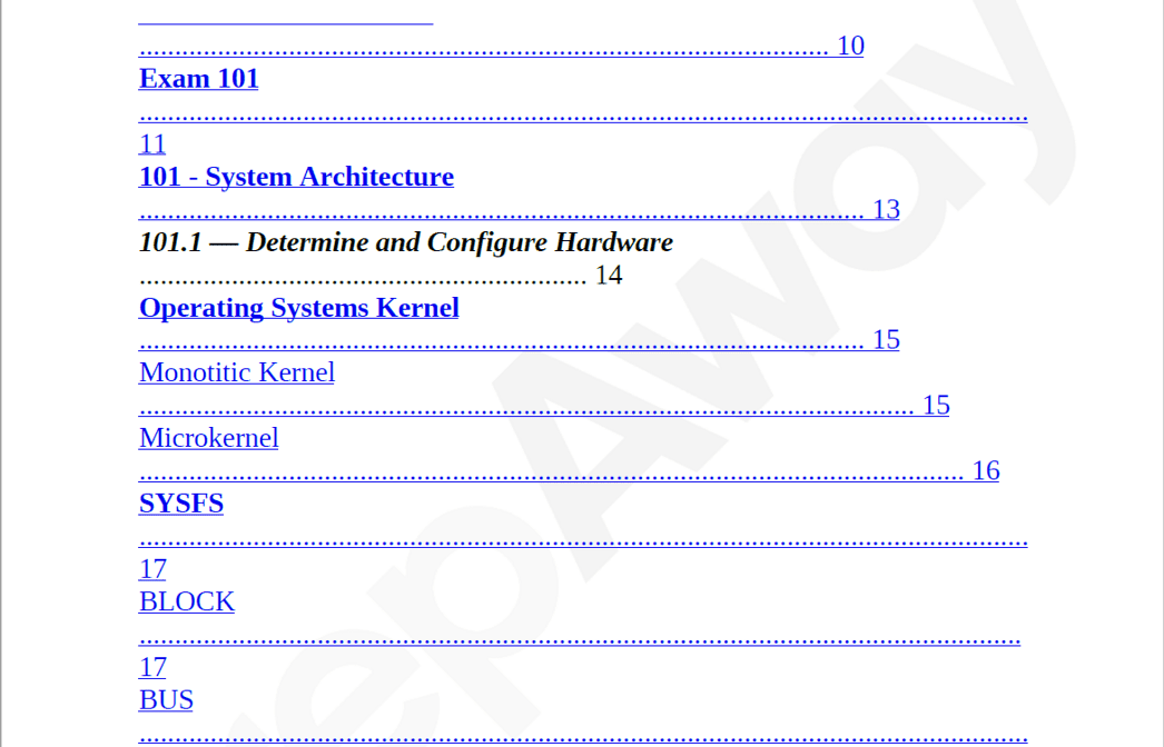 Killexams 101-500 Study Guide Screenshot #2
