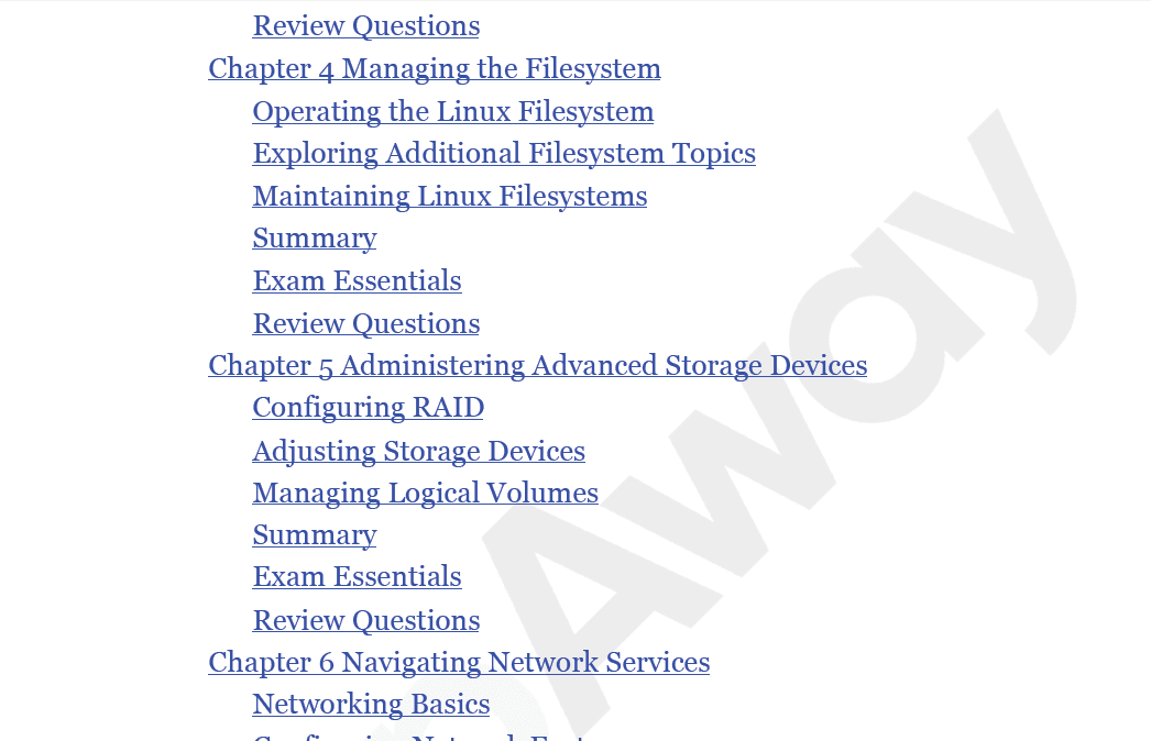 PrepAway 201-450 Study Guide Screenshot #2