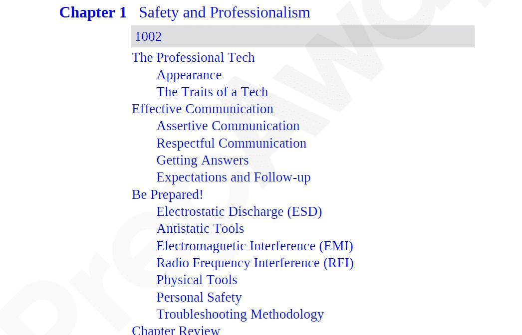 Killexams 220-1001 Study Guide Screenshot #31