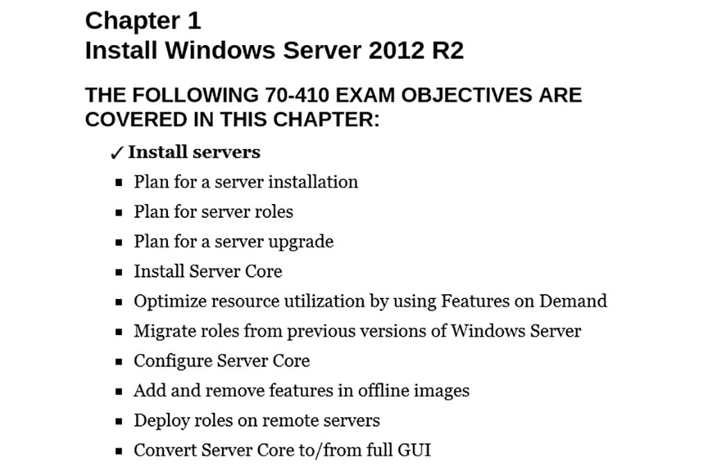 PrepAway 70-410 Study Guide Screenshot #1