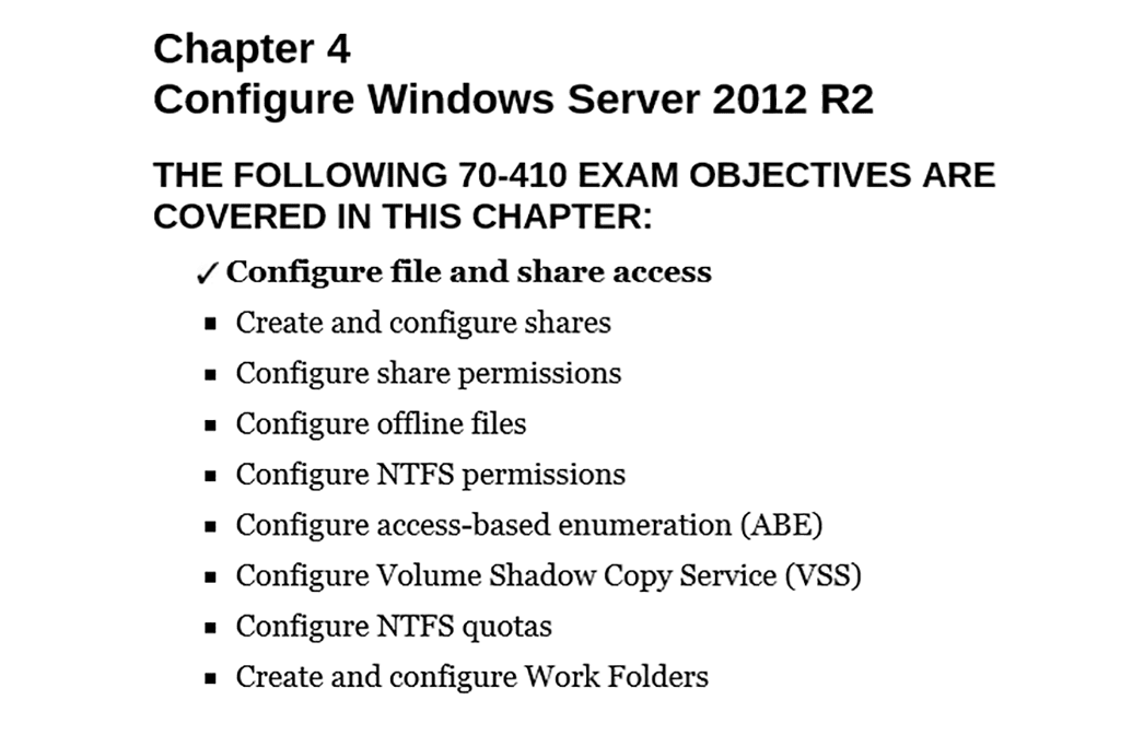 PrepAway 70-410 Study Guide Screenshot #4