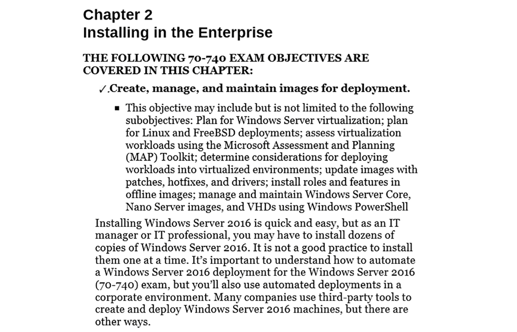 PrepAway 70-740 Study Guide Screenshot #2
