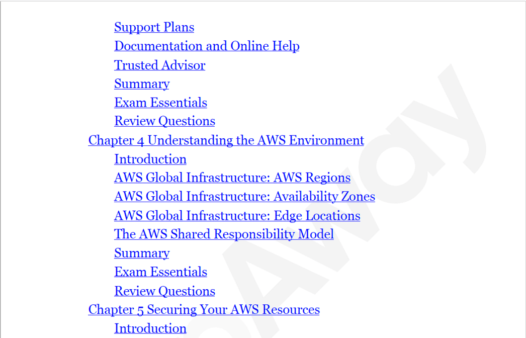 PrepAway AWS Certified Cloud Practitioner Study Guide Screenshot #2