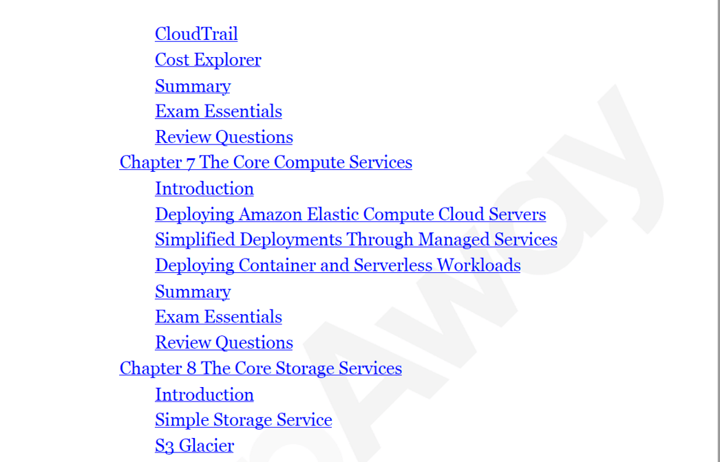 PrepAway AWS Certified Cloud Practitioner Study Guide Screenshot #31