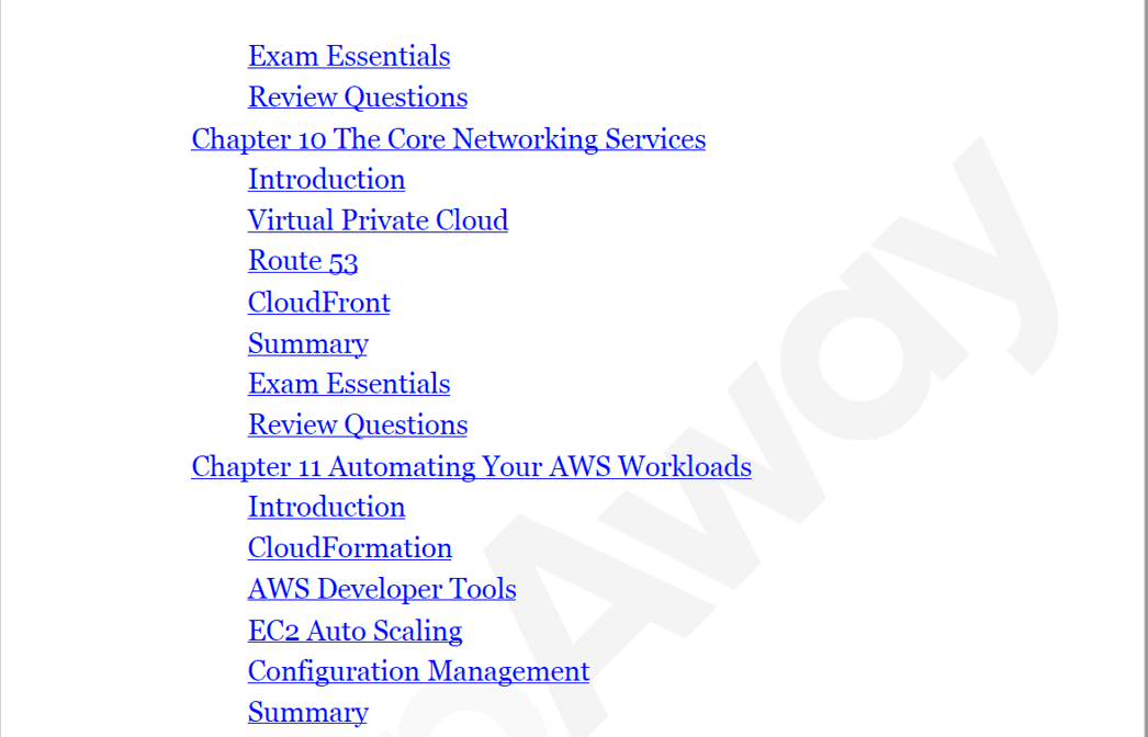 PrepAway AWS Certified Cloud Practitioner Study Guide Screenshot #4