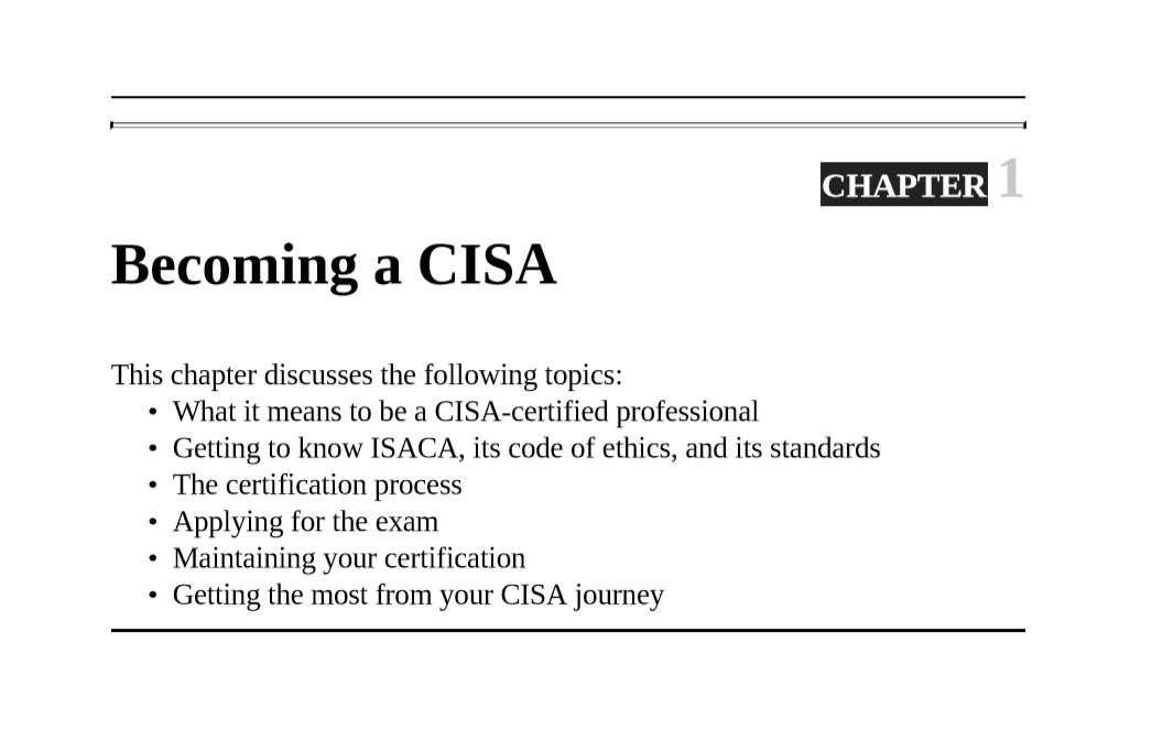PrepAway CISA Study Guide Screenshot #1