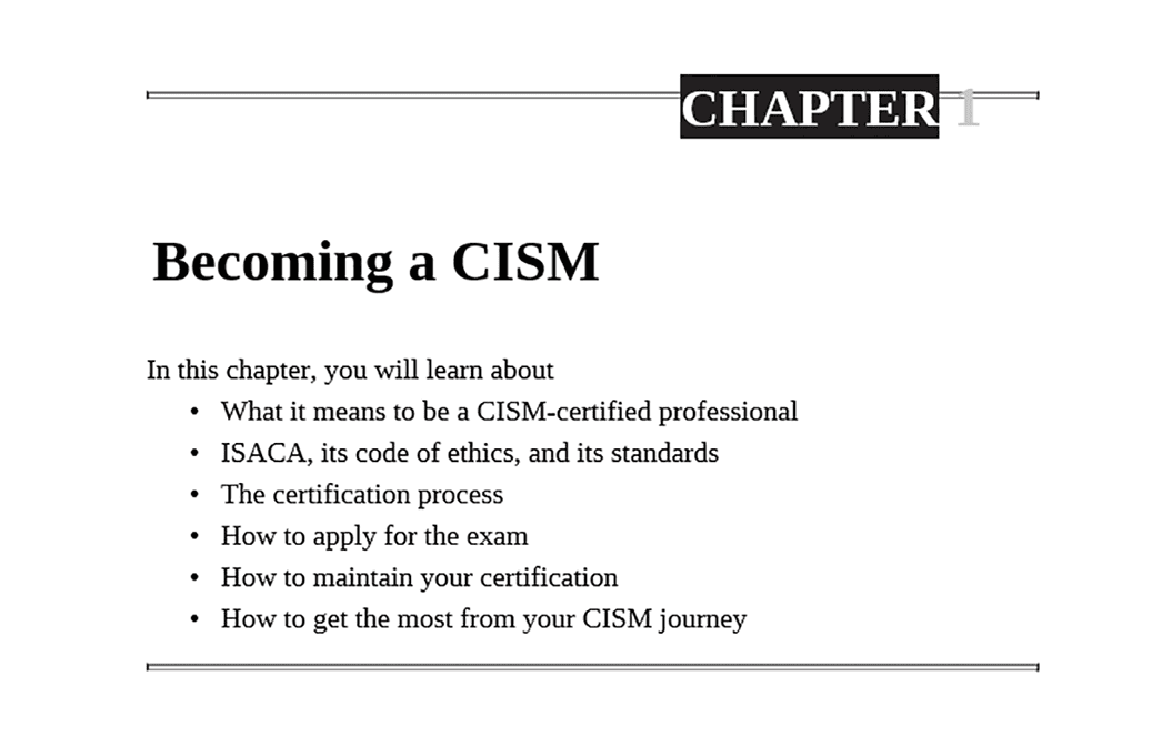 PrepAway CISM Study Guide Screenshot #1